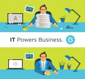 IT Powers Business Before After