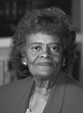 Dr. Evelyn Boyd Granville 1
