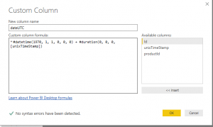 Handling Unix timestamps and DST in Power BI 3