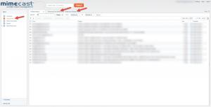 Mimecast Webmail